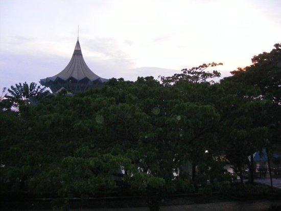 Wo Jia Lodge: D.U.N view from Room 1