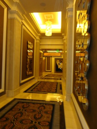 Caesars Palace: Corredores del Hotel