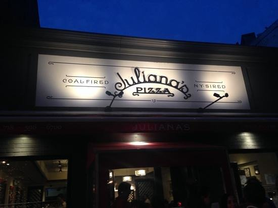 Juliana's Pizza, Brooklyn