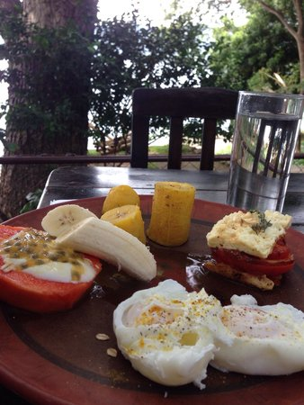 Casa Marimba : Desayunando en un 5 estrellas