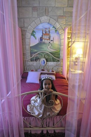 Gardaland Hotel: Happy to be princess for a day