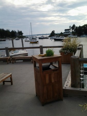 Oliver's at Cozy Harbor: View from table