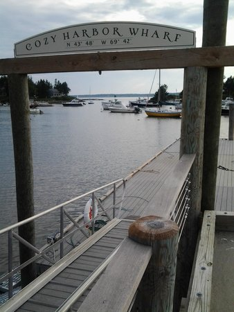 Oliver's at Cozy Harbor: View from adjacent deck