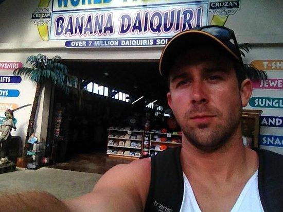Mountain Top: World Famous Banana Daiquiri