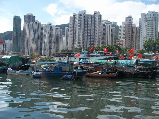 Gray Line Tours of Hong Kong: Aberdeen Fishing Village