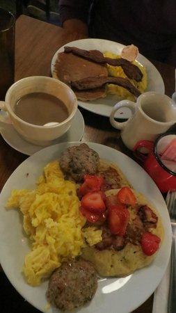Good Enough to Eat : lumberjack,lumberjill coffee and latte