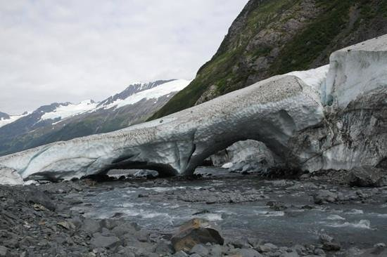 Byron Glacier Trail : The view from behind.