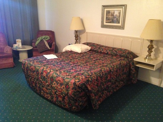 Ambassador Motor Lodge: room