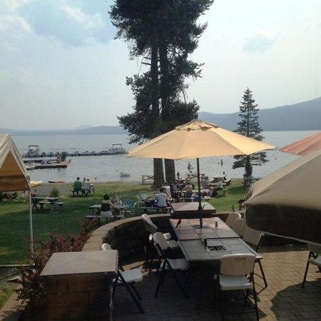"""Diamond Lake Resort : View from """"Resort"""""""