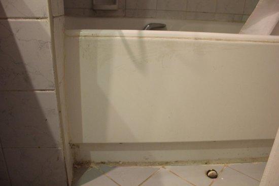 Sol Sirenas Coral Resort: j'avais peur de mettre mes pieds dans la salle de bain