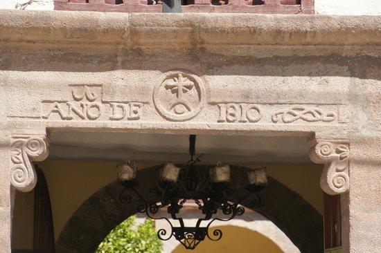 Hotel La Casona De Yucay Valle Sagrado : Entrance to the hotel, a colonial house built in 1810