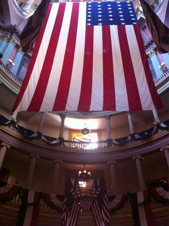 Old Courthouse : Interior de la casa de la justicia
