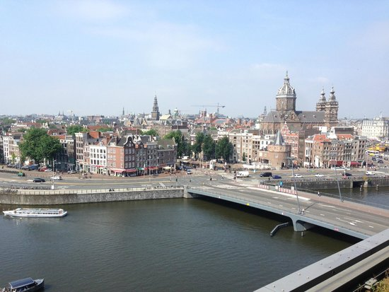 DoubleTree by Hilton Hotel Amsterdam Centraal Station: View from our Balcony Executive Room