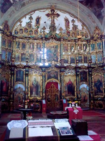Baja, ฮังการี: Serbian Orthodox Church, interior