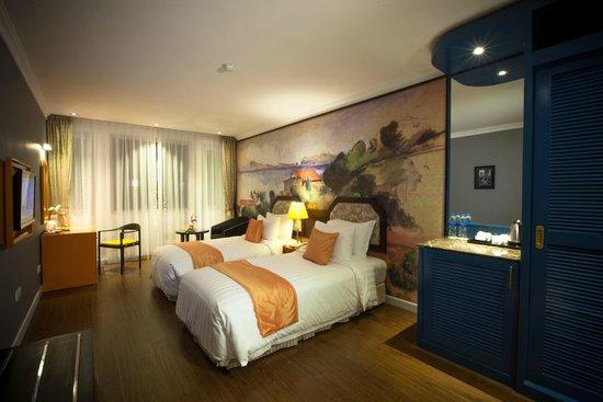โรงแรมเมซองดีฮานอย: Deluxe Twin City View
