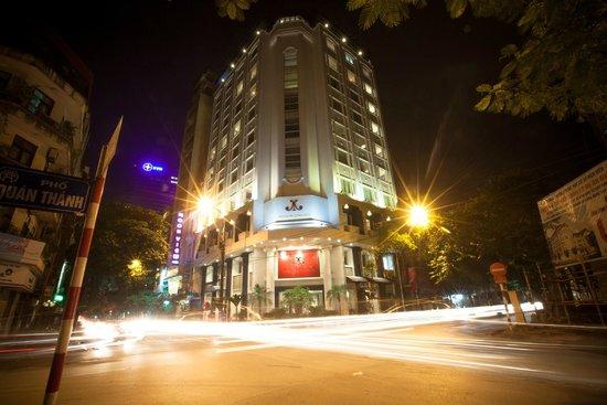โรงแรมเมซองดีฮานอย: Hotel Exterior