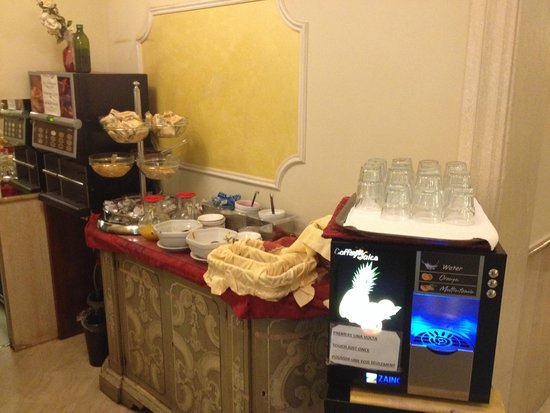 Hotel Belle Epoque: Buffet Café da Manhã