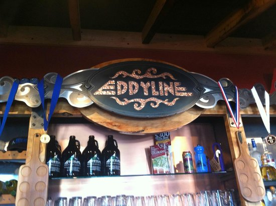 Eddyline Restaurant at South Main: Inside Logo!