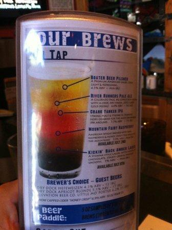 Eddyline Restaurant & Brewery: Beer help for the Rockies...:) I mean Rookies...:)