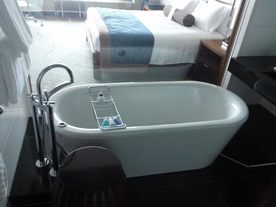 Conrad Tokyo: soaking tub