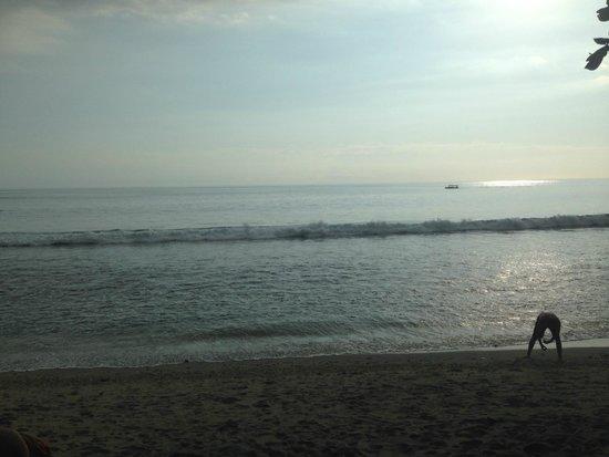 Holiday Resort Lombok: beach view