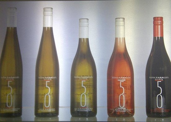50th Parallel Estate Winery: The product