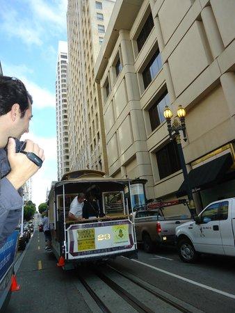 Cable Cars: Uma das paradas