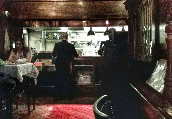 St. Elmo Steak House: The kitchen, where all the magic happens.