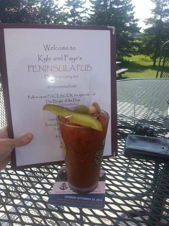 Peninsula Pub : BEST Bloody Mary
