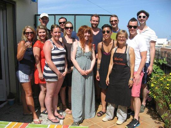 Marta's Private Paella Cooking Classes : Marta's Paella Cooking Class: July 19, 2014