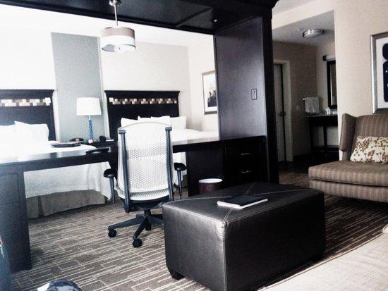 Hampton Inn & Suites Denver/Airport-Gateway Park: Our room