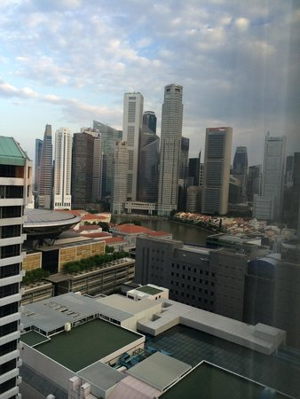 Peninsula Excelsior Hotel: View from 21st floor