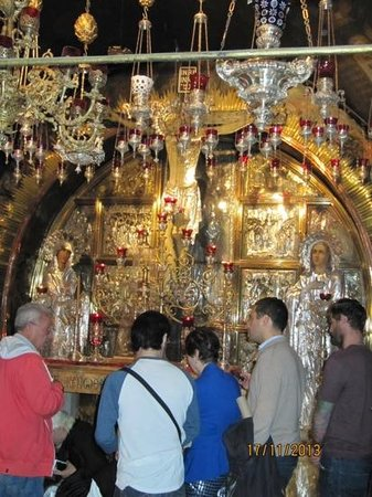 Church of the Holy Sepulchre: Greek Orthodox altar