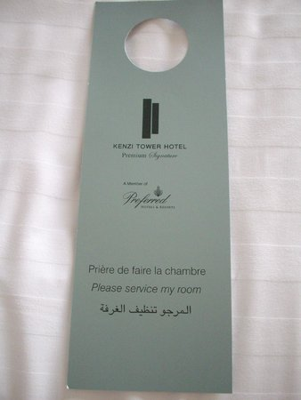 Kenzi Tower Hotel: Housekeeping
