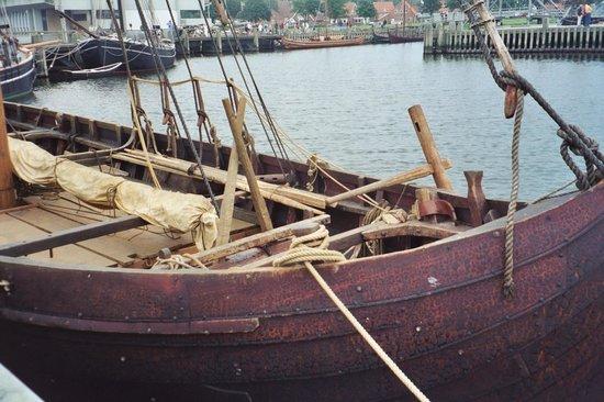 Museo de Barcos Vikingos: Shipyard in Roskilde
