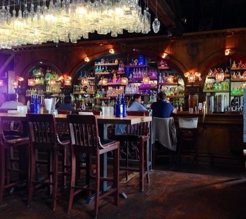 View Of The Bar In BONEZ