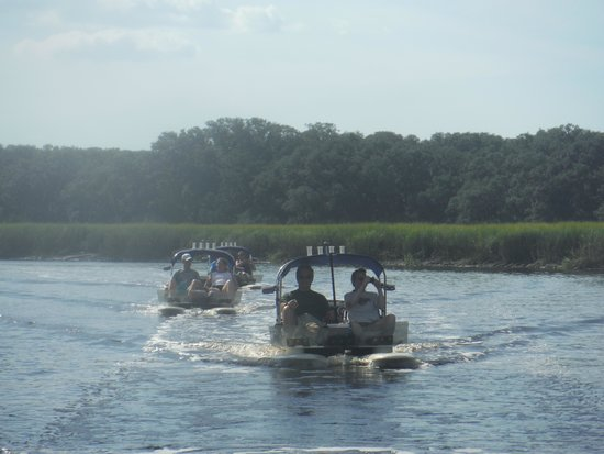 Near Fort Clinch Picture Of Backwater Cat Adventure