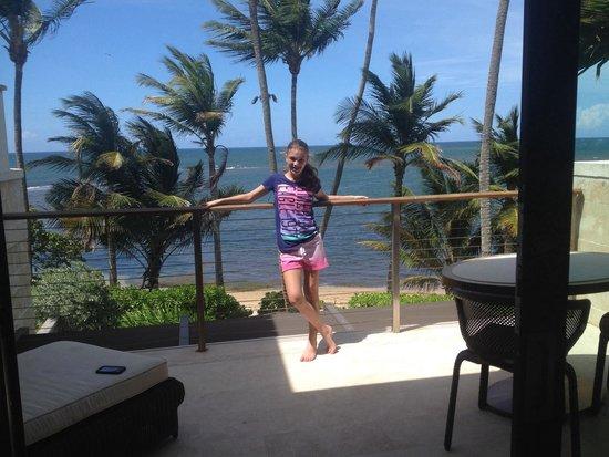 Dorado Beach, a Ritz-Carlton Reserve : our balcony