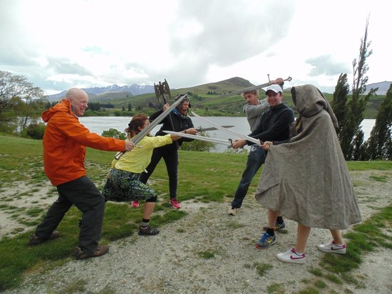 Trails of Middle-Earth Tour: Sword Fighting in Middle Earth