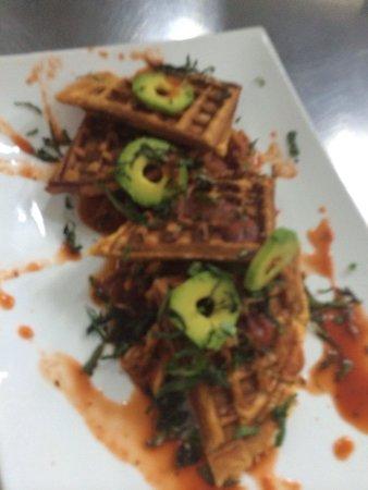 Gio by Gio Gastro Bar: Bacalaitos Waffle