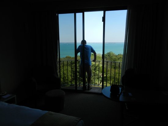 DoubleTree by Hilton Hotel Darwin: View from our room