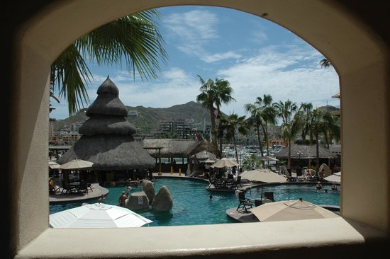 Marina Fiesta Resort & Spa: View from our room #217