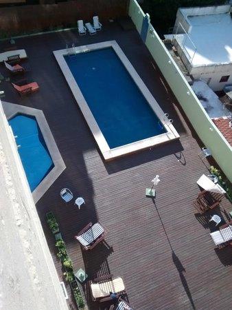 Villa Gesell Spa & Resort: deck desde pasillo 5to piso