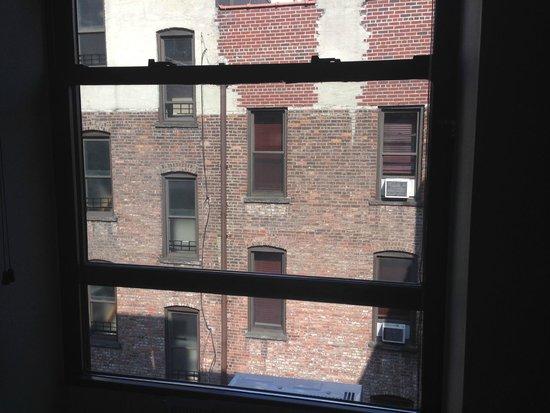 Washington Jefferson Hotel: View from room 630