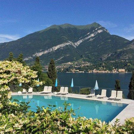 Borgo Le Terrazze: Бассейн. Вид потрясающий