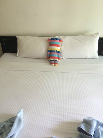 Avantika Boutique Hotel: King Size bed