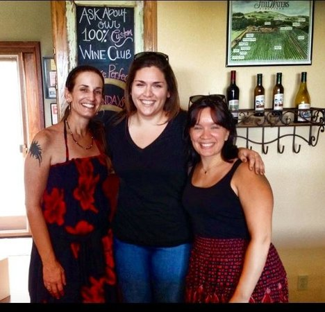 Me and my beautiful cousins at the lovely Still Waters Vineyards. Good wine and lots of laughs!