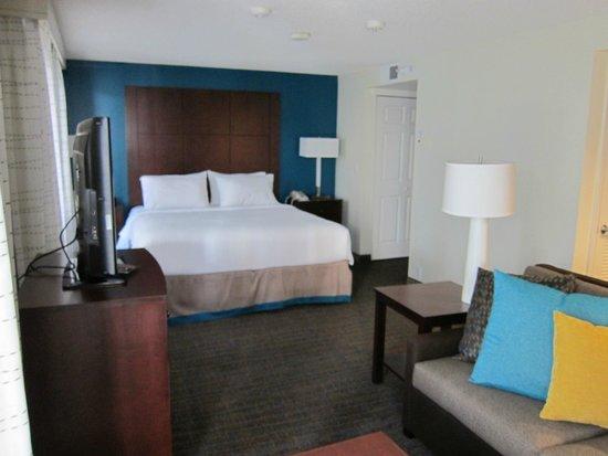 Residence Inn Seattle North/Lynnwood Everett : King Bed