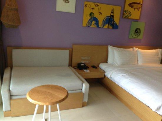 Holiday Inn Resort Krabi Ao Nang Beach : Pool access room - interior