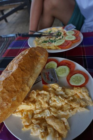 Jammee Guest House: Lovely breakfast